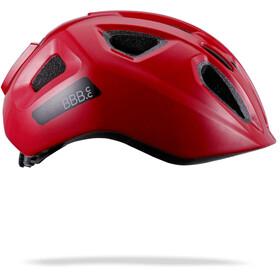 BBB Sonar Casco Ragazzi, glossy red